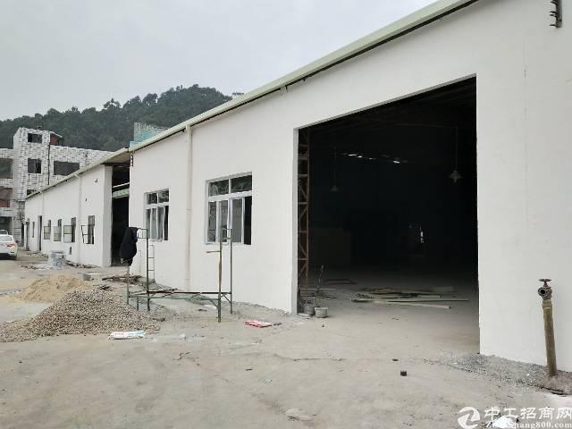 工业园区1400平钢构厂房