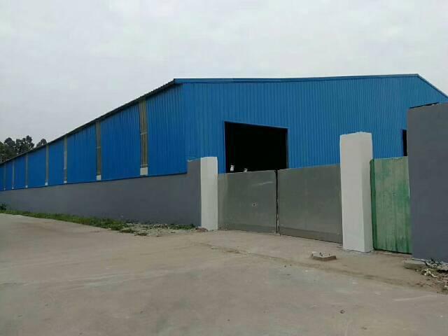 黄江镇靠公明新出超大空地独门独院钢构厂房面积3000㎡