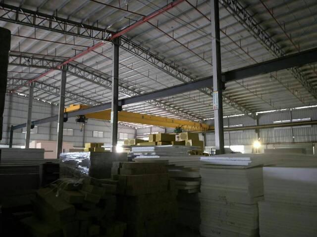 高埗镇工业区独门独院单一层钢构厂房2400平米出租