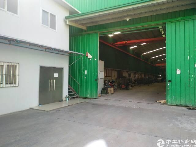 清溪镇新出独栋钢构厂房3000平方招租