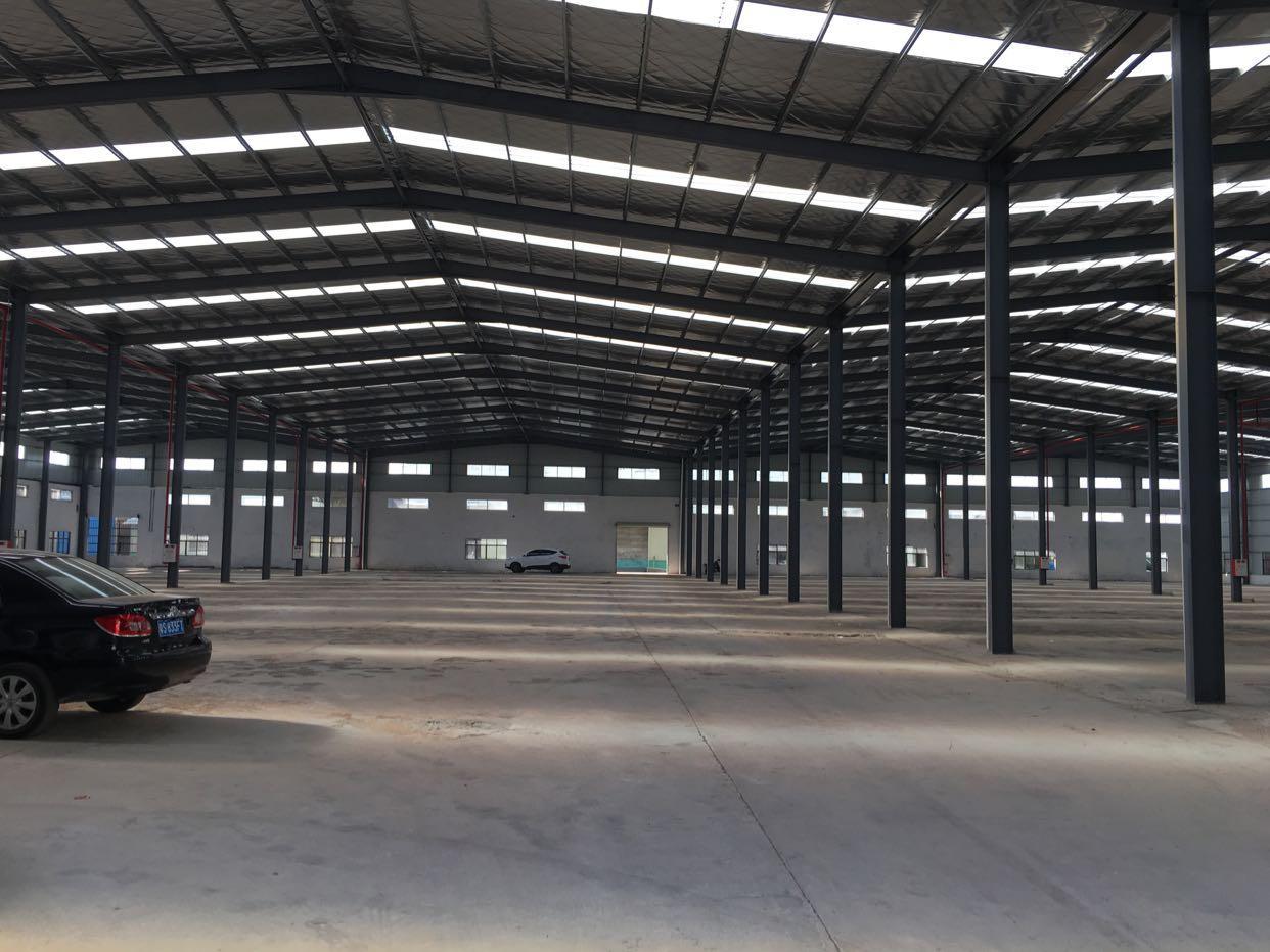 常平镇新出一楼全新钢构,10000平米,厂房形象优美,交通便