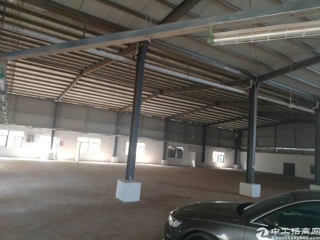 平湖重型工业区旁新出独门独院钢构1680平方厂房