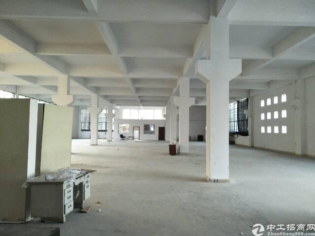 凤岗靠平标准一楼1680平低价出租了可做仓库