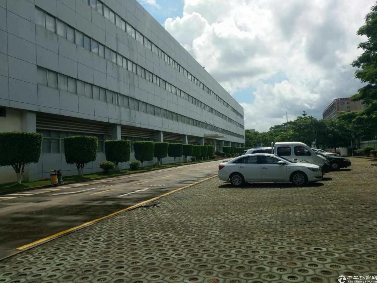 凤岗镇雁田工业区标准二三楼各4000平方米电子厂房出租