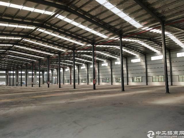 单一层钢构厂房8000平招租可分