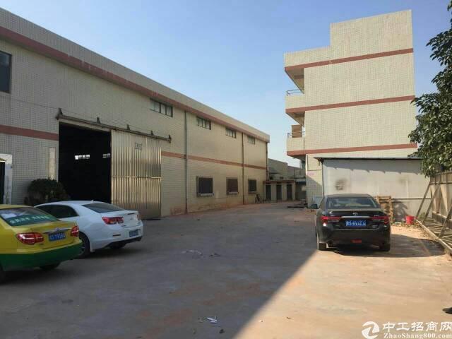 虎门镇靠近沙田独院厂房一层的1850平米,宿舍办公600平米