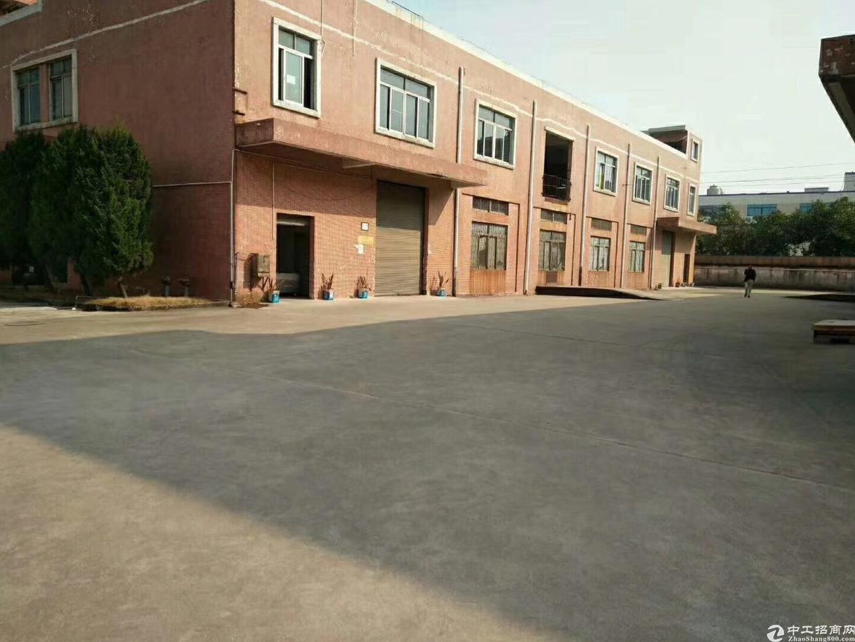 松岗中学花园式独院厂房20000平方,独立办公楼