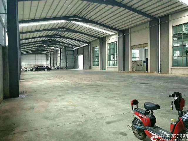 高埗镇工业区分租单一层铁皮房4800平 高8米