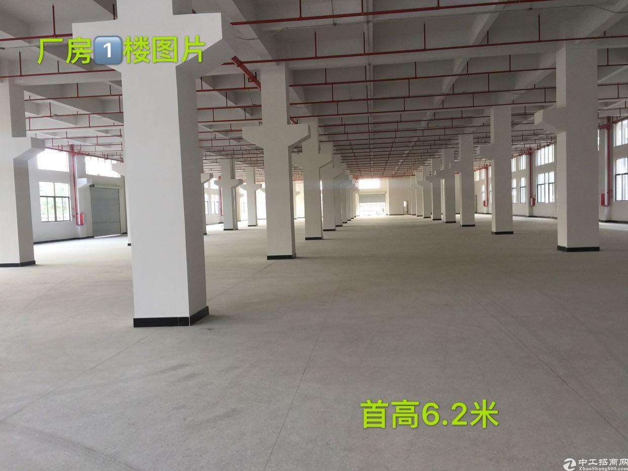承接深圳华为供应商黄草朗新出重工业厂房带消防喷淋可分租整租