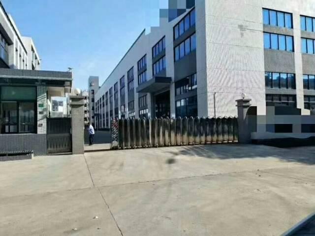 黄江镇靠公明新出超级亮独门独院厂房招租滴水12米空地大