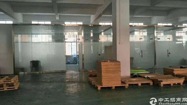 塘厦凤凰岗1440平方标准一楼厂房出租水电齐全
