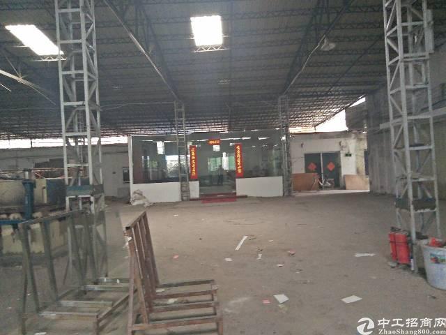 龙西北通道边岗构1600坪招租