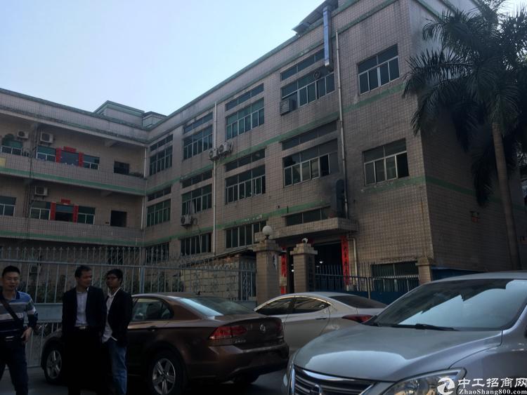 凤岗镇油甘埔龙平大道边标准独院厂房2800平方米出租