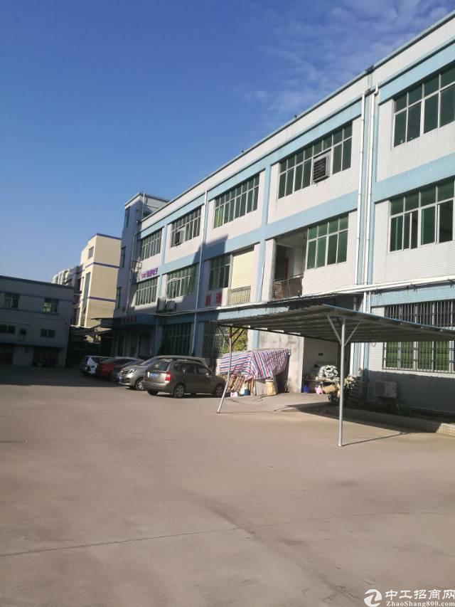 寮步独院厂房7200平方,一到三层,宿舍2800平方