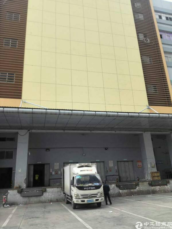 平湖华南城高标准物流仓库楼上3000平方米出租