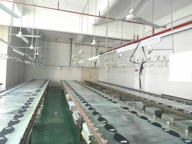 坑梓镇新出楼上300平标准厂房低价出租
