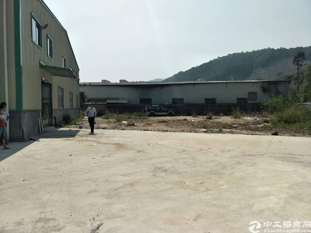 黄江镇田心村独门独院钢构厂房3000平方招租,滴水8米