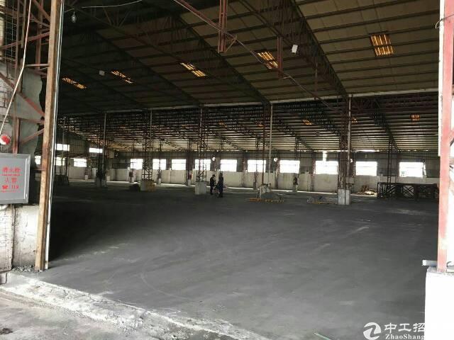 将军路附近12800平米钢构厂房,可分租