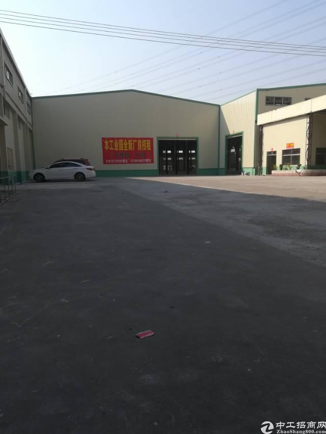 大岭山单一层独院滴水9米钢构9000平方厂房出租-图2