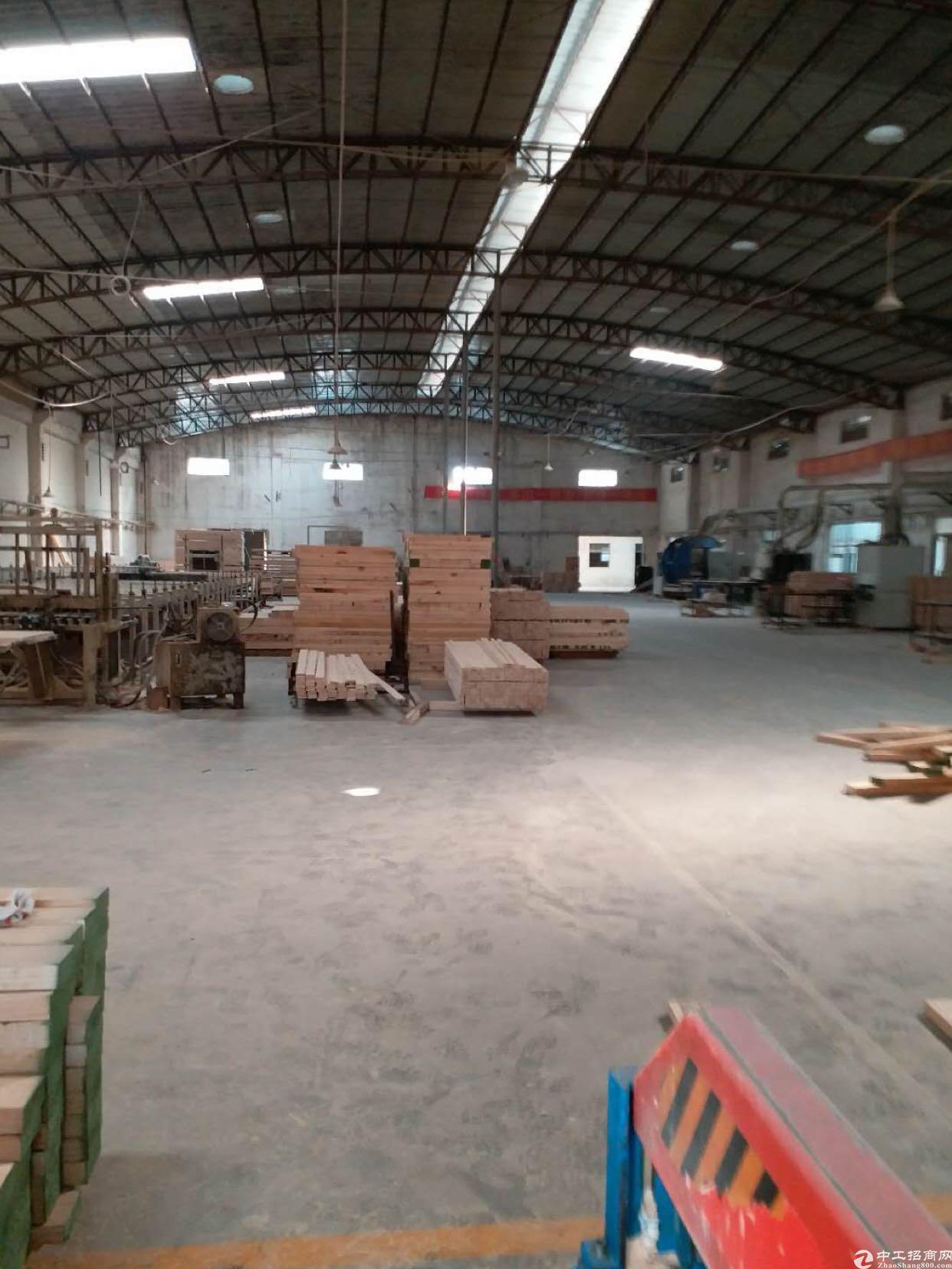 大岭山向东工业区分租3000平,可做家具