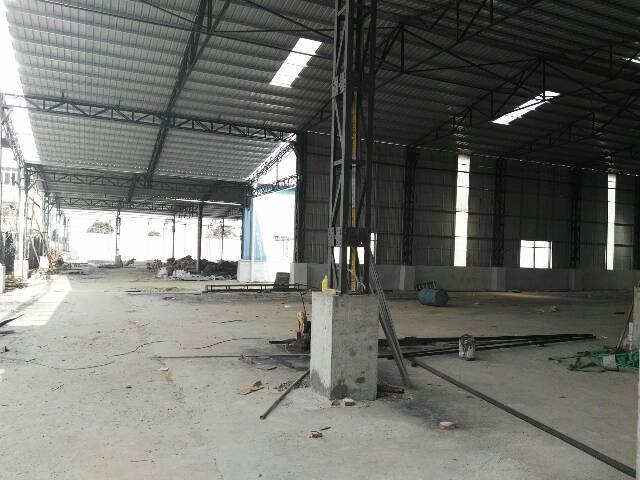 高埗镇工业园区内独栋单一层铁皮房低价出租