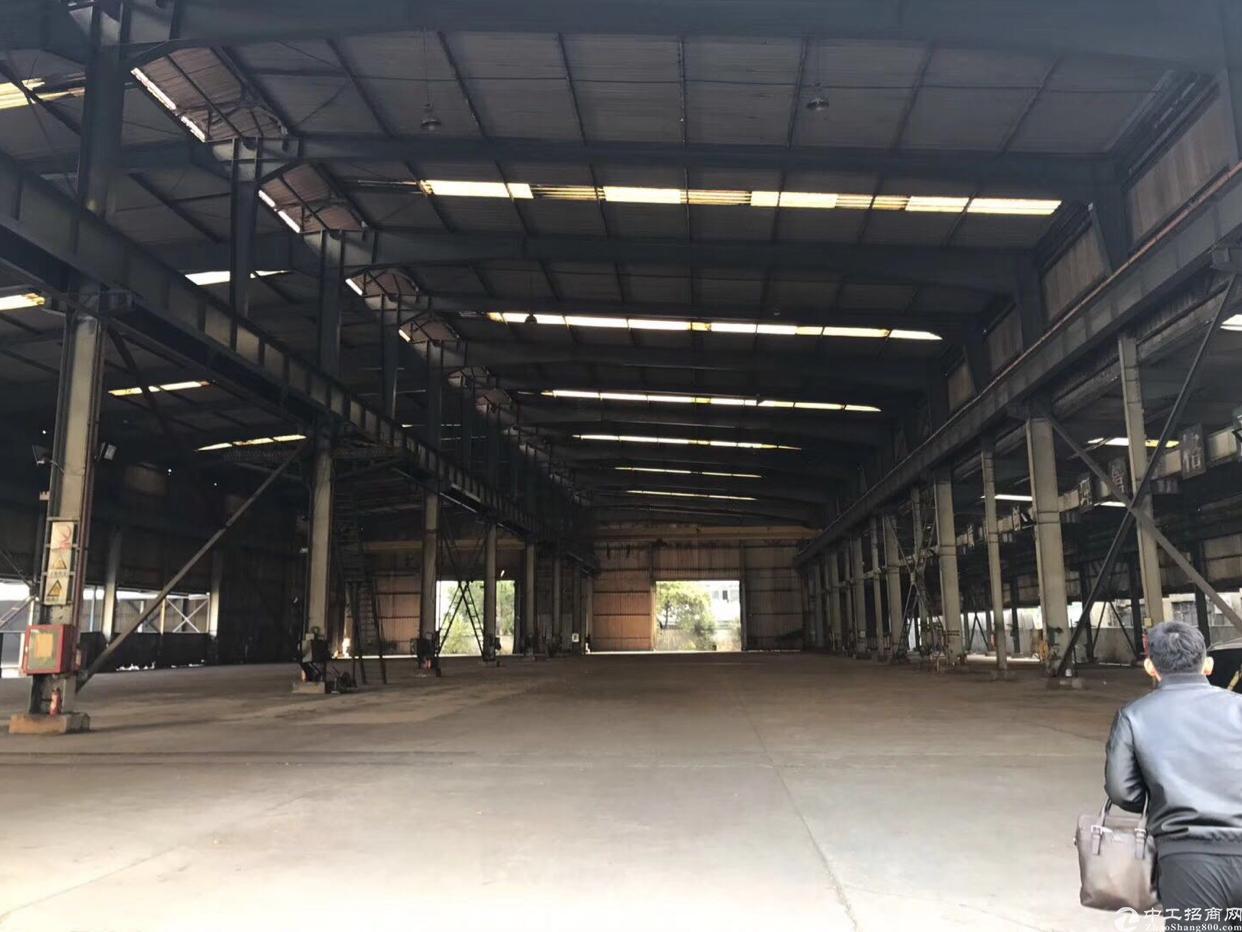 新出钢构厂房6525平米,滴水高7.5米,适合做注塑,五金