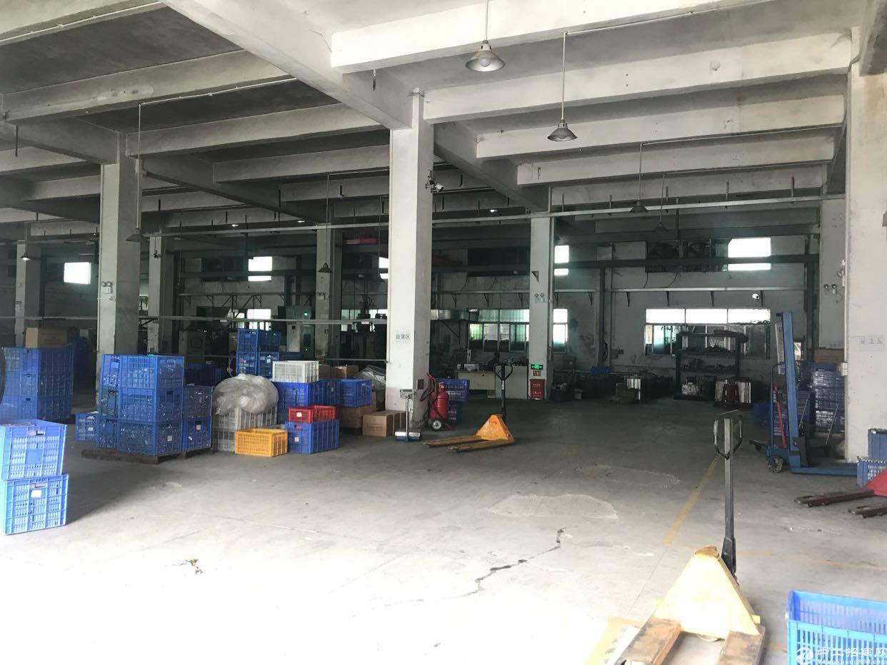 沙井后亭地铁口1000平米一楼实用90%层高6米