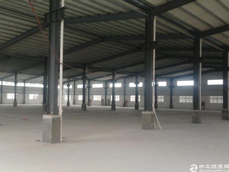 清平高速口6800平米滴水8米高的仓库出租(大小可分)