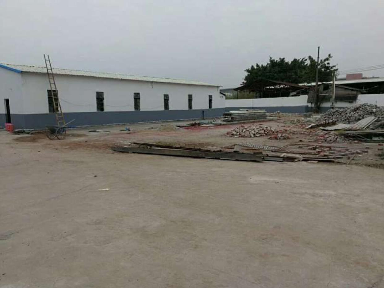 望牛墩单一层厂房2300平米出租,空地2200平米