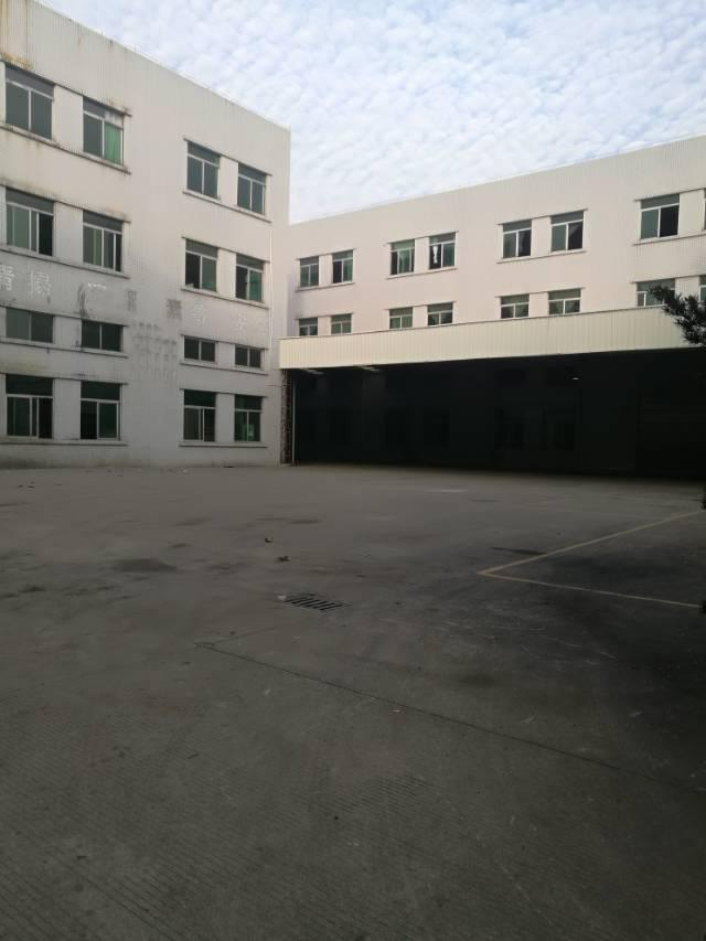 寮步经典标准独院,厂房三层13500平方,一楼六米,带牛角,-图2