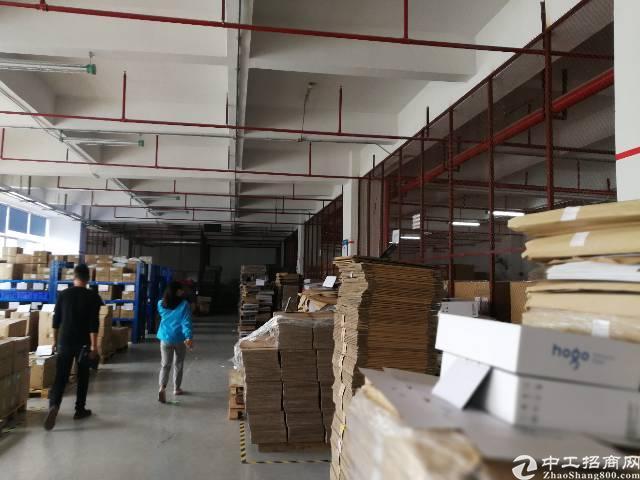公明南光高速口新出花园式独栋楼上厂房3800平米