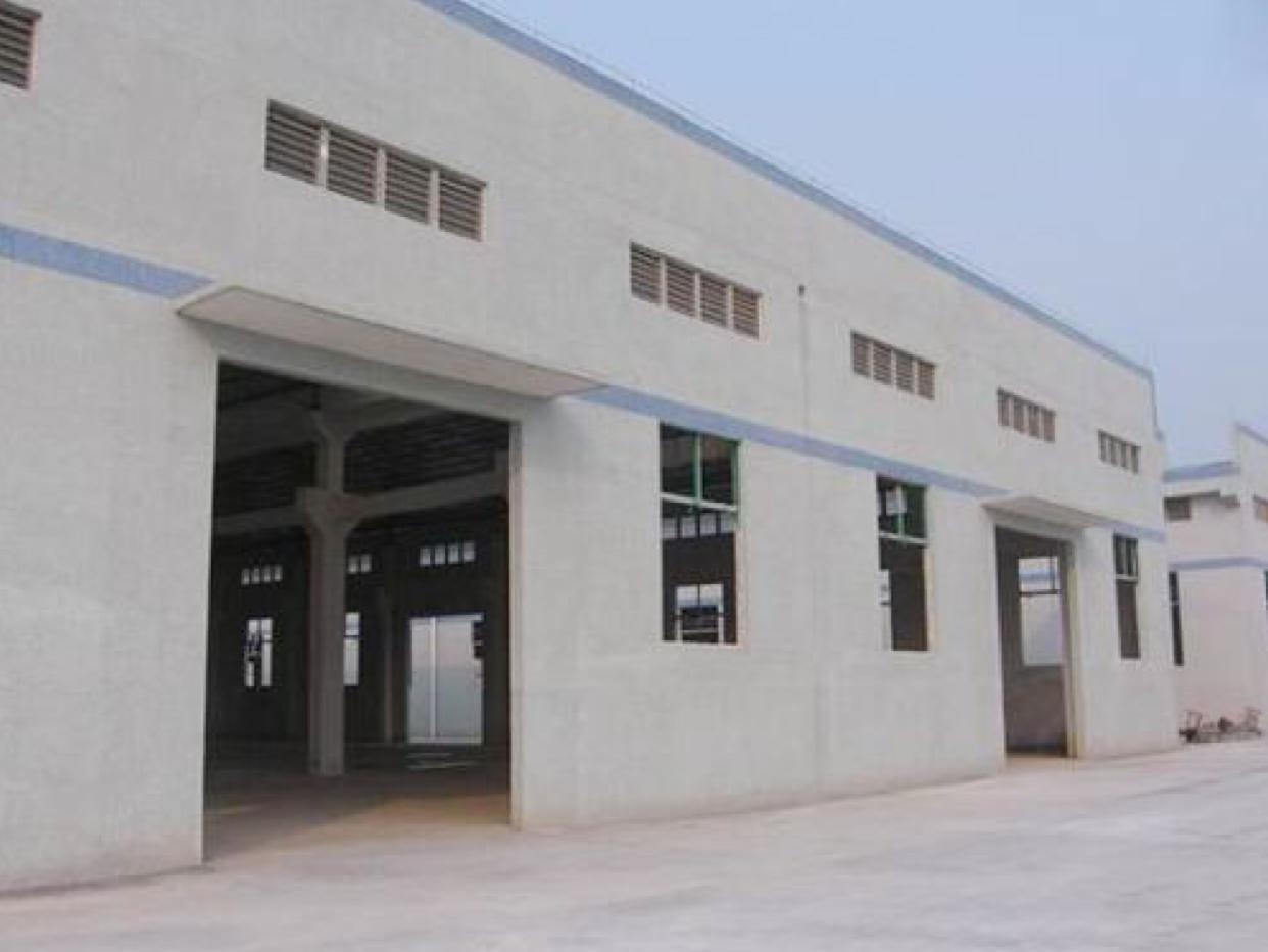 茶山镇塘角村新建单一层钢构厂房招租