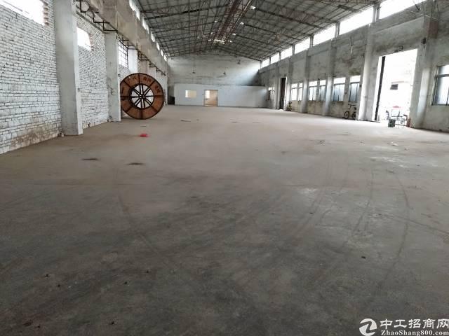独院单一层10米高1300平方厂房出租