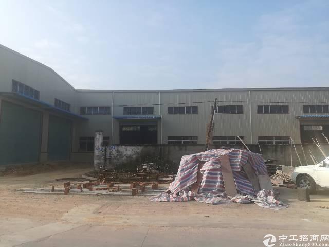 茶山新出独门独院钢构厂房4200平