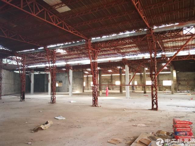 小独院单一层钢构厂房招租