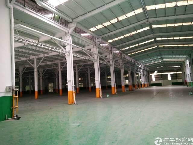 塘厦带红本物流仓库业主出租,37000平米大坪高速出口附近