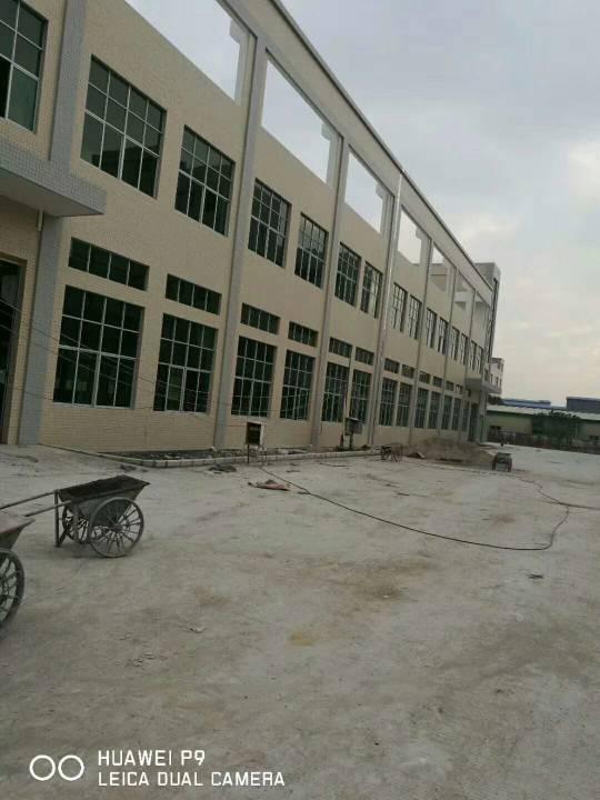 松岗豪华全新高端独院厂房,3层12000方,一楼高度6.5米
