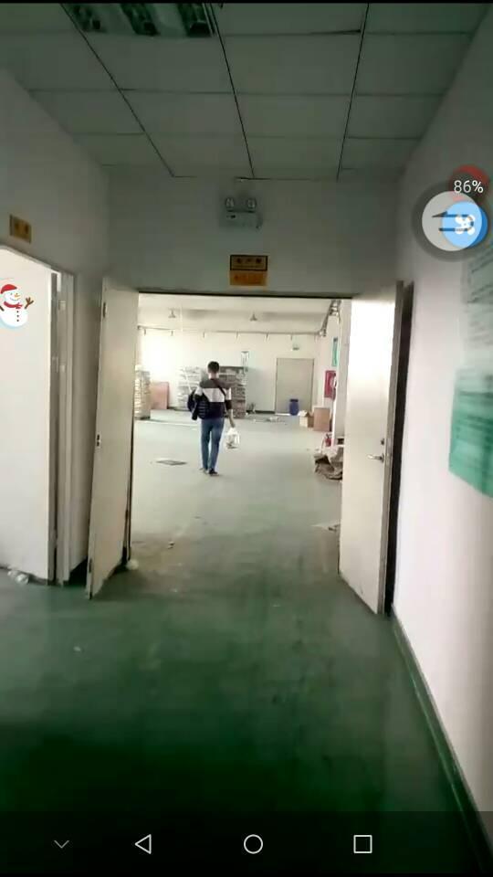 公明上村楼上1450平米厂房火爆招租