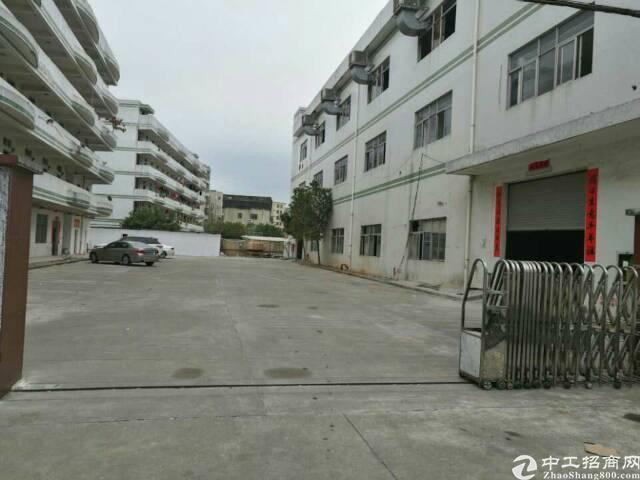 龙岗独门独院厂房1-3层4500平宿舍1-5层2500平