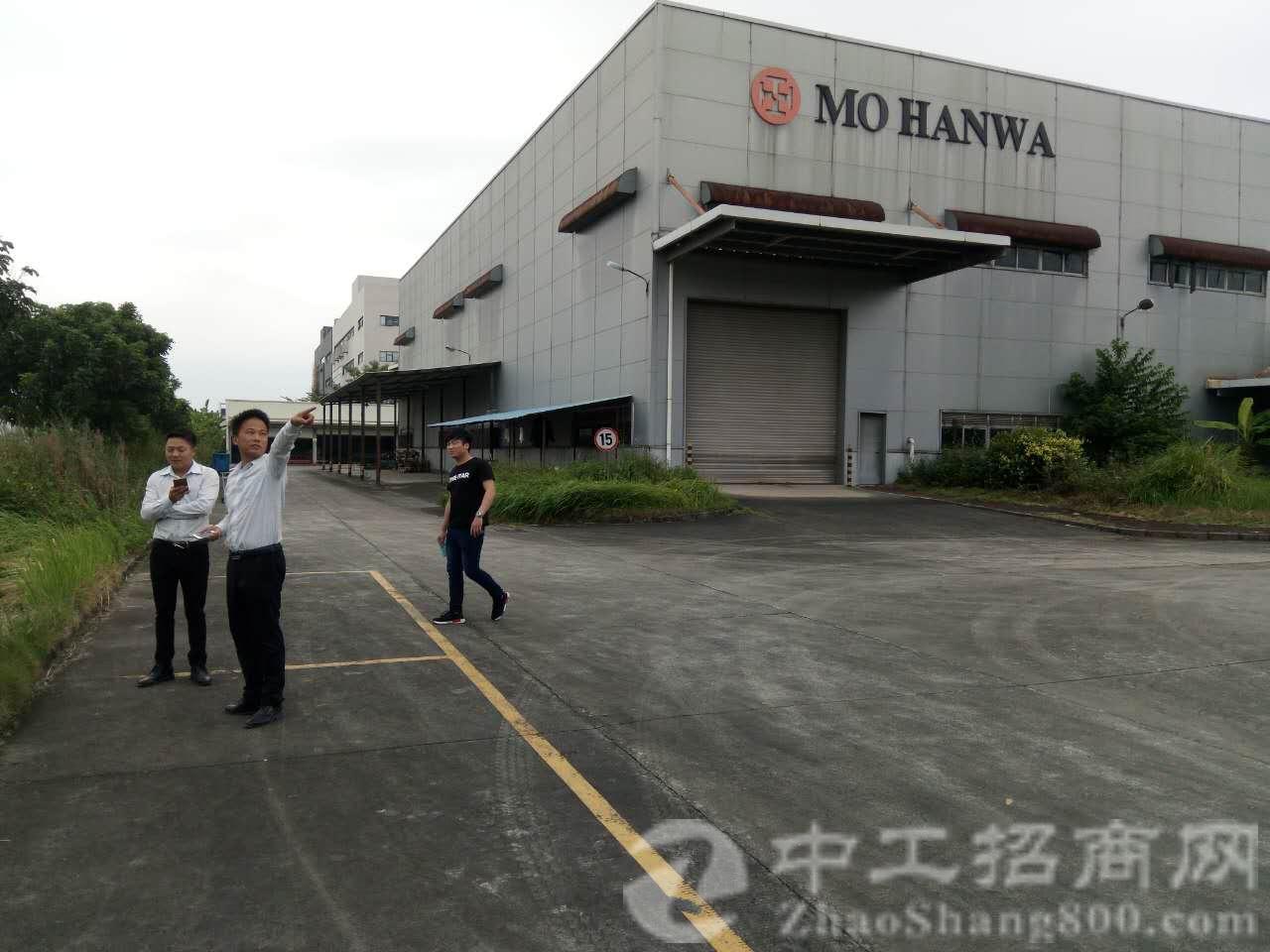 东莞市茶山镇现出一独院面积5700平方米厂房合同期超长