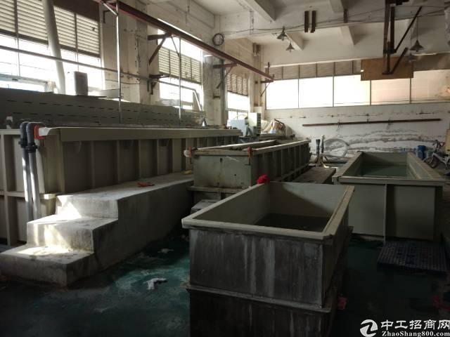 虎门沙角电镀氧化厂房 300平方 牌照齐全 原房东厂房