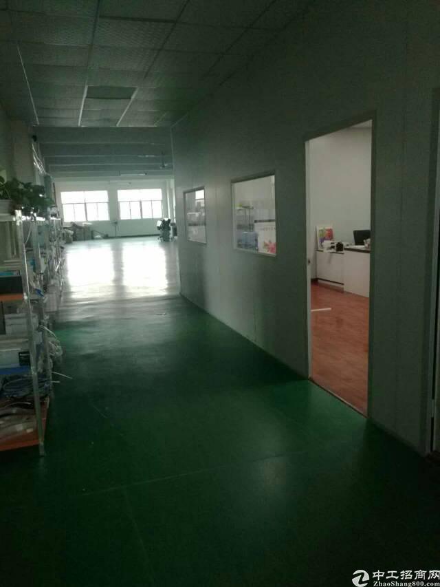 (出租)寮步新出二楼厂房1500平米招租