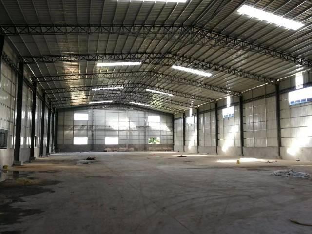 高埗镇单一层铁皮房1600平高7米