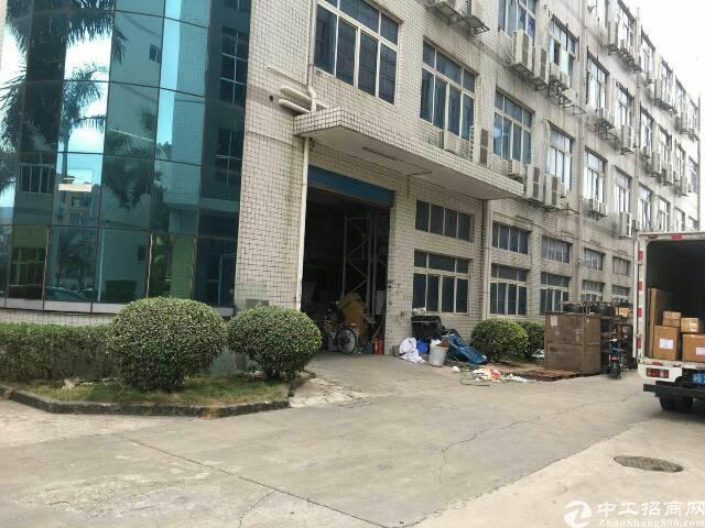 横岗 永湖地铁站附近800米红本厂房一楼2250平招租-图3
