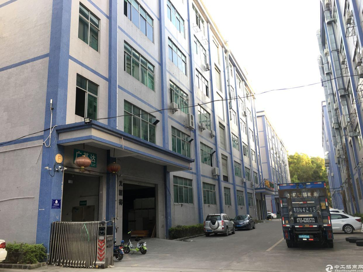 坂田杨美地铁站附近红本独院厂房1-6层每层1300平方可分租