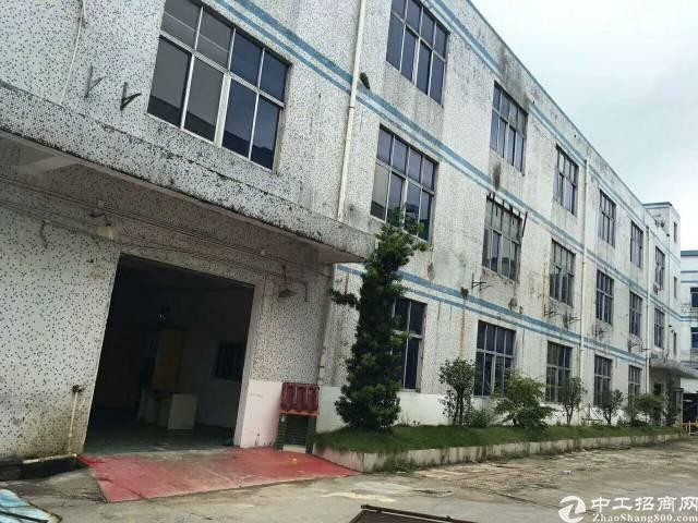 沙井共和靠松福大道边装修厂房出租960平