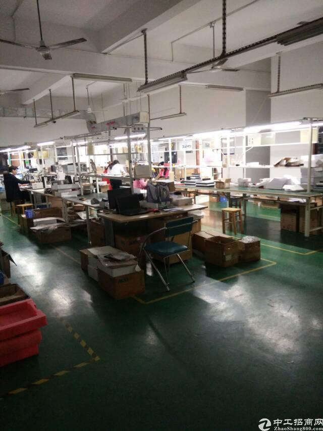 福永镇白石厦龙王庙工业区三楼950平厂房招租-图3