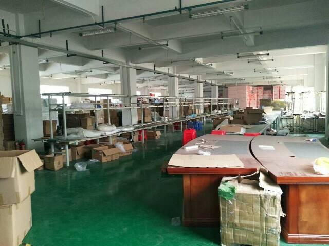 沙井大王山工业园二楼2600平方低价招租