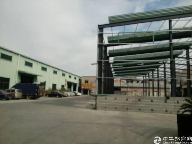 横沥镇水边村附近新建钢构厂房招工1800㎡