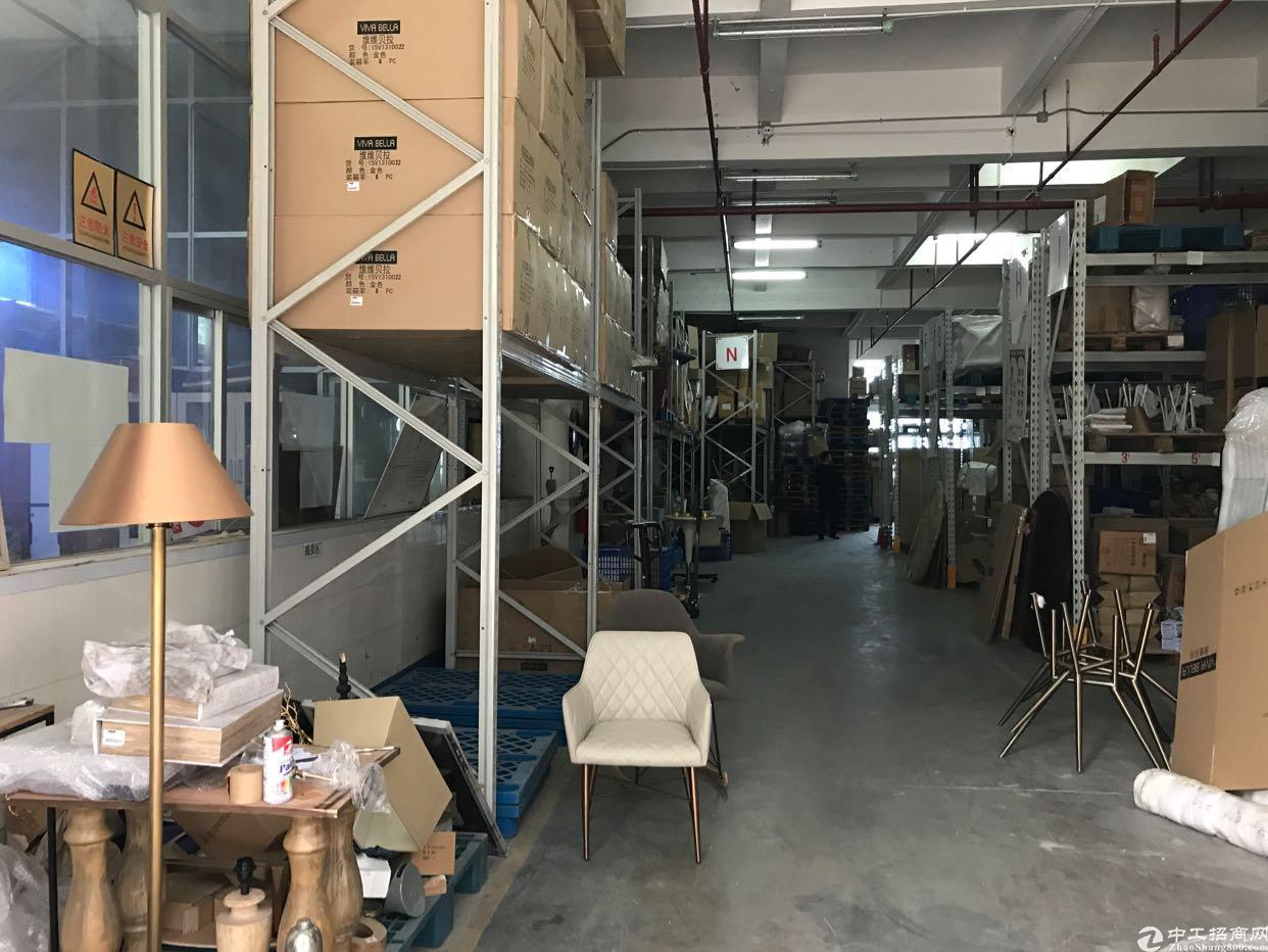 横岗永湖地铁站一楼花园式2200平精装厂房出租-图4